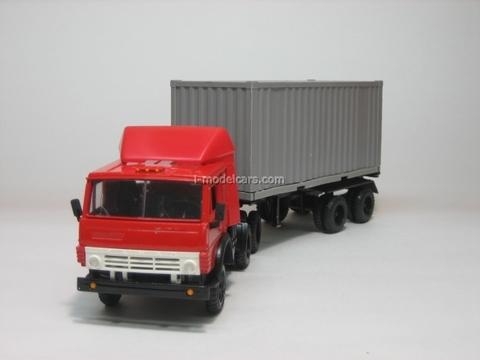 KAMAZ-5410 Container carrier Elecon 1:43