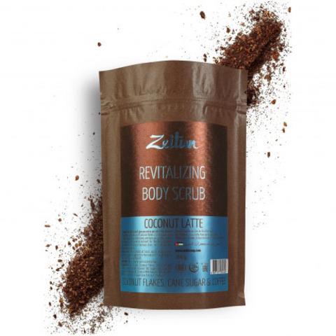 Скраб для тела омолаживающий питательный Zeitun Кокосовый латте 200г