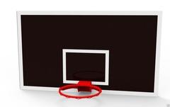 Щит баскетбольный ламинированная фанера 18 мм, 1800х1050мм.