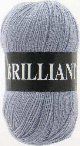 Пряжа Brilliant Vita 4963 светло-серый фото