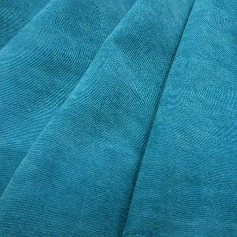 Канвас - ткань для штор - бирюза. Ширина - 280 см. Арт. 18-18
