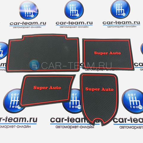 Резиновые коврики Super Auto на панель ВАЗ 2113-14-15