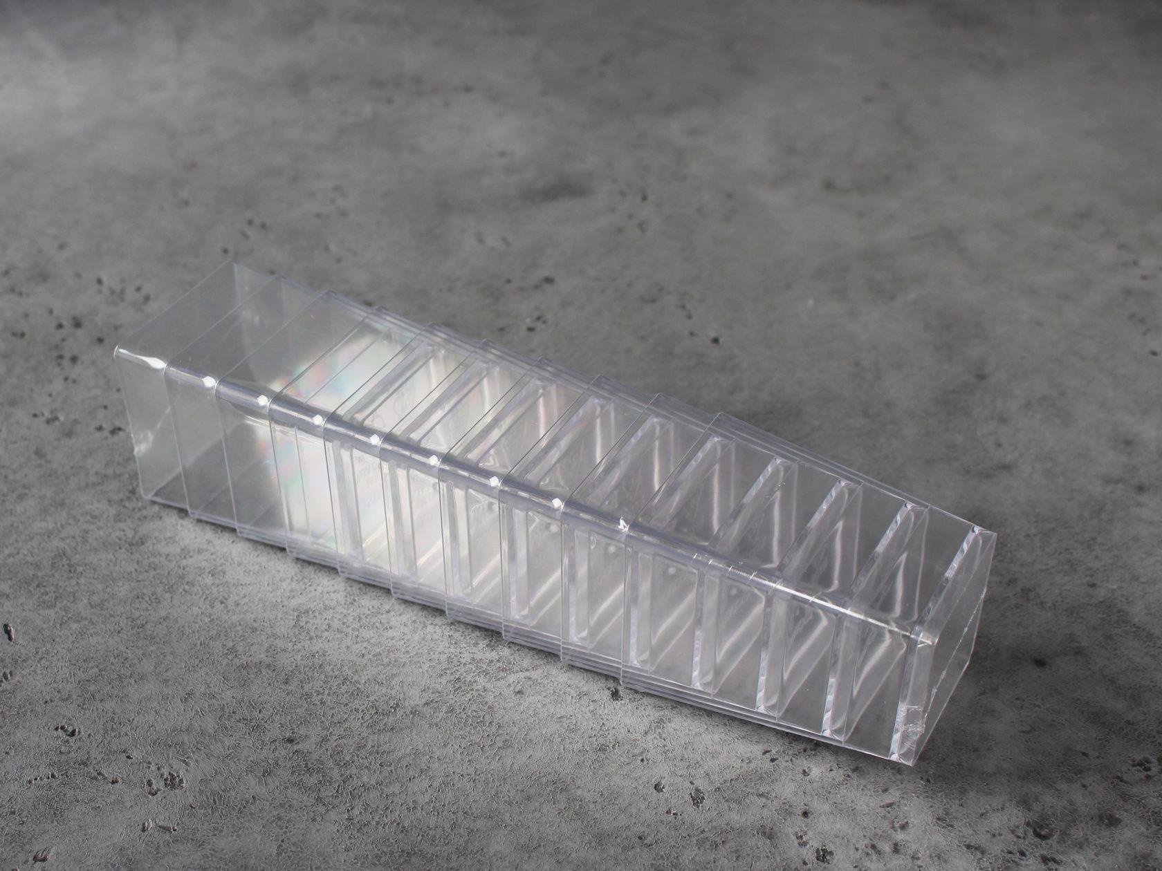 Стакан для десерта квадратный, 10 шт
