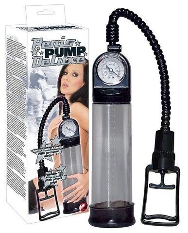 Вакуумная помпа для увеличения пениса Deluxe