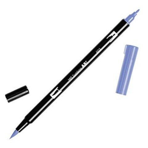 Маркер с двумя наконечниками Tombow Dual Brush Marker- Цвет 603 Periwinkle