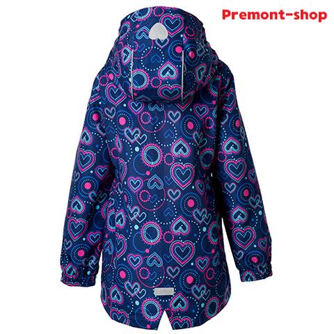 Плащ для девочки Premont Фейерверки Лото-Квебек S18181