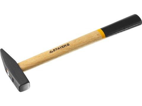 STAYER 500 г молоток слесарный с деревянной рукояткой