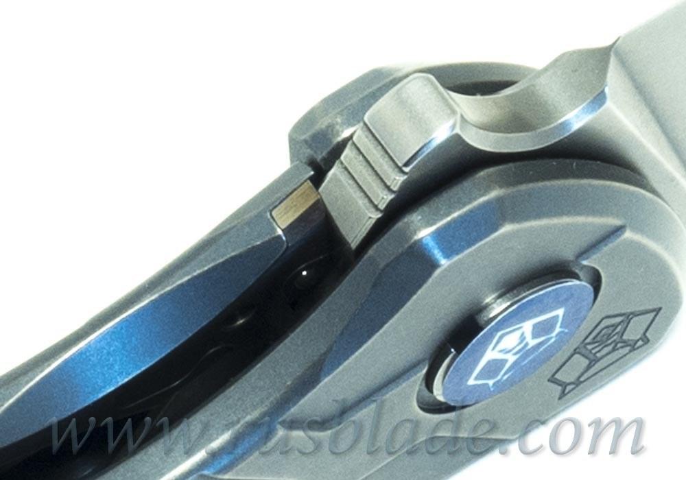 2019 Shirogorov Flipper 95 M390 T-mode As blue MRBS