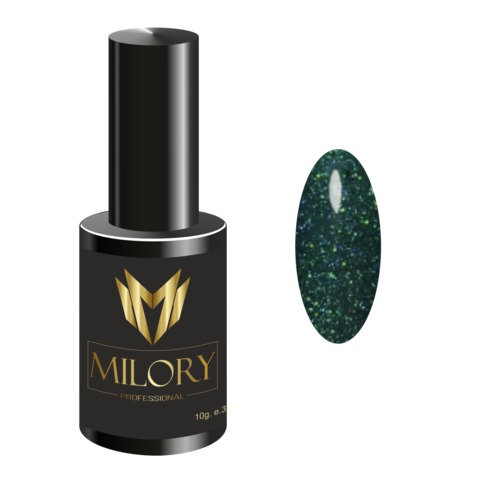 Milory, Гель-лак Crystal Collection №13, 10мл, Арт.:MLPCR7