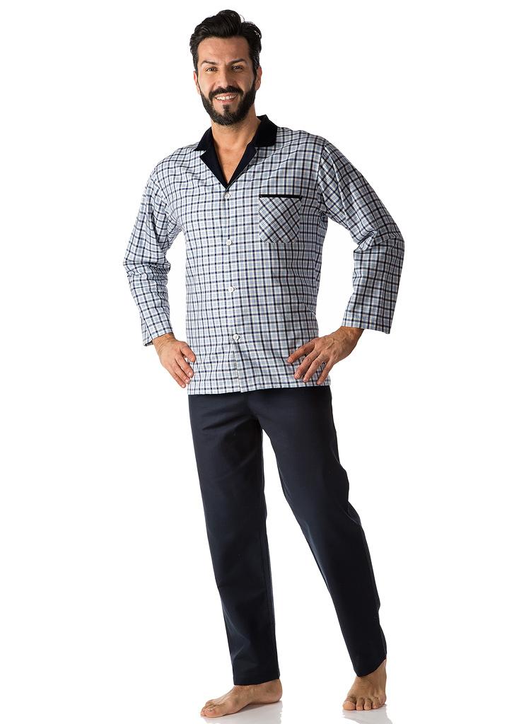 Клетчатая мужская пижама B&B