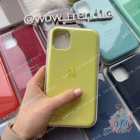 Чехол iPhone 11 Pro Max Silicone Case Full /flash/