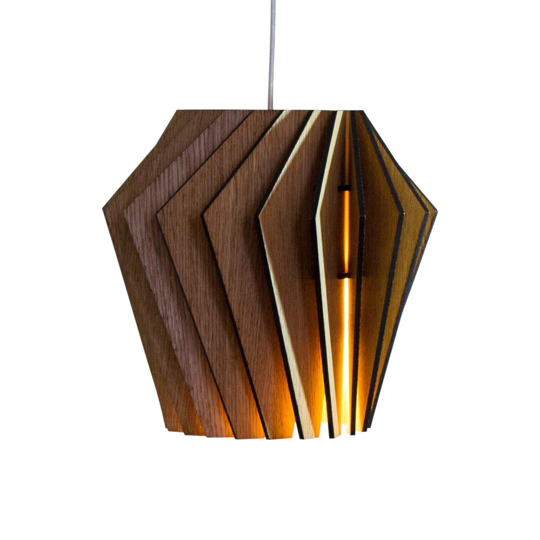 Подвесной светильник Woodled Турболампа, средний