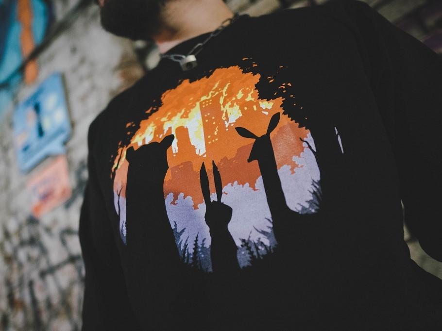 BURN BURN BURN / свитшот