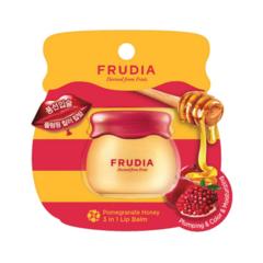 Frudia Pomegranate Honey 3 In 1 Lip Balm - Бальзам для губ с гранатом 3 в 1