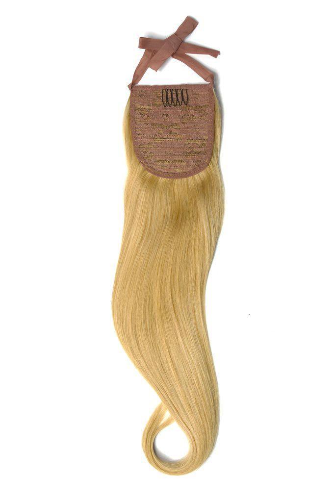 Накладной хвост на ленте тон 27 темный блондин