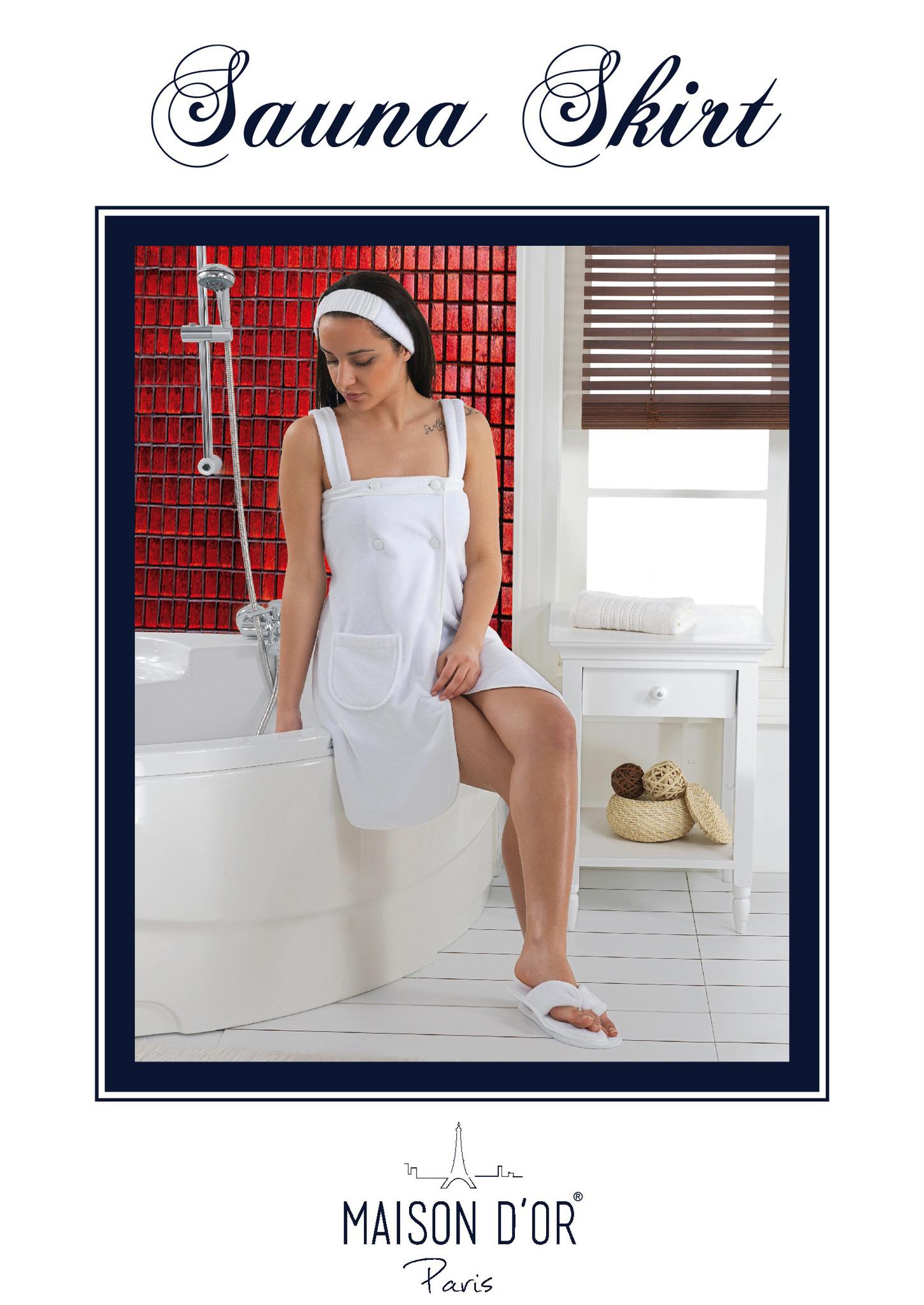 Наборы для Сауны SKIRT СКИРТ набор женский для сауны Maison Dor Турция Sauna_Skirt-K.jpg