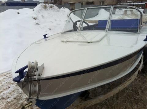 Ветровое стекло «Стандарт» на лодку Прогресс-4