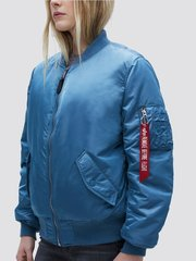 Бомбер Alpha Industries MA-1 W Air Force Blue (Бирюзовый)