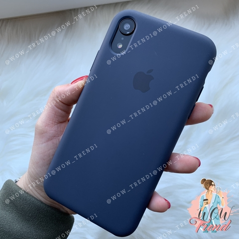 Чехол iPhone XR Silicone Case /midnight blue/