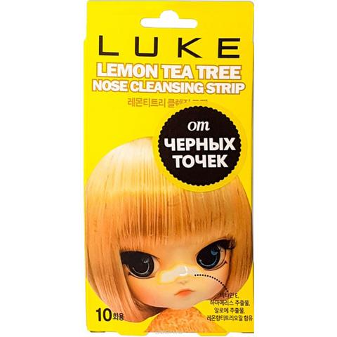 Очищающие полоски от черных точек с экстрактом лимона и чайного дерева Hanwoong Luke 1 шт
