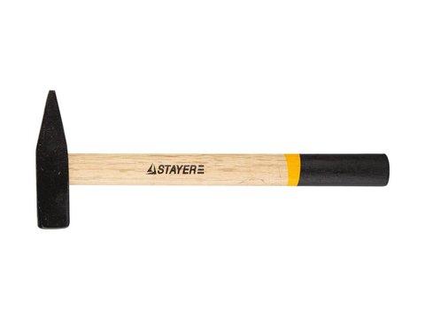 STAYER 600 г молоток слесарный с деревянной рукояткой