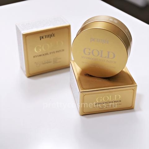 PETITFEE Gold Hydrogel Eye Patch Гидрогелевые патчи с золотом (60 шт)