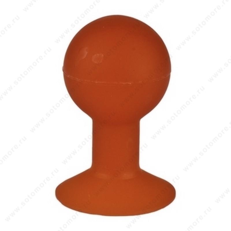 Торговое оборудование - Подставка-присоска универсальная для смартфонов красная