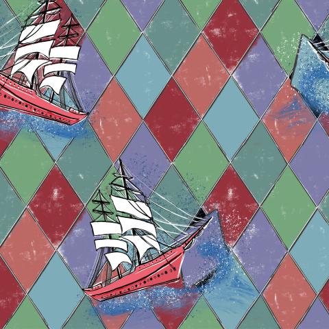 Корабли бороздят просторы