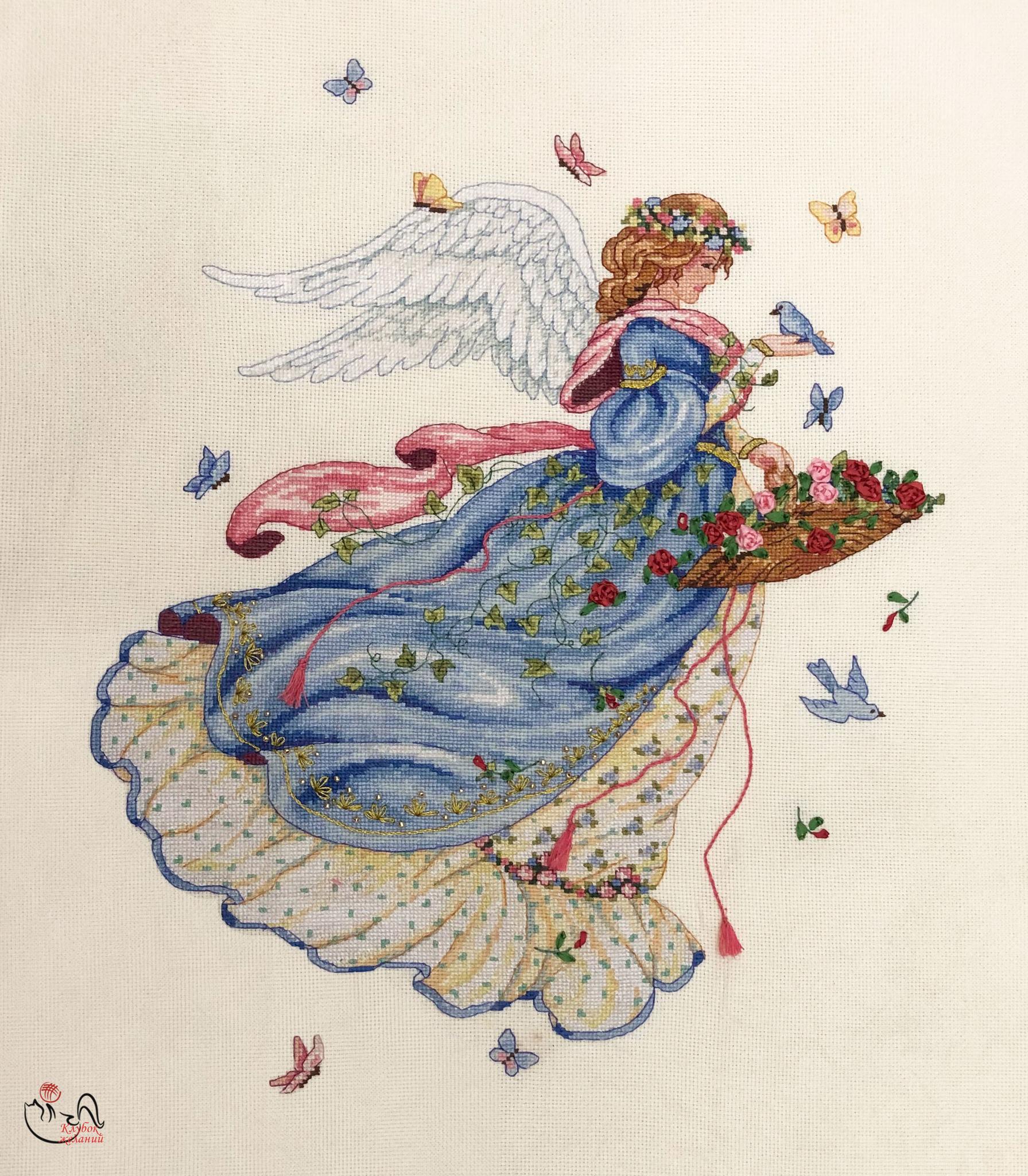 Набор для вышивания  Ангел весны. Арт. 3189