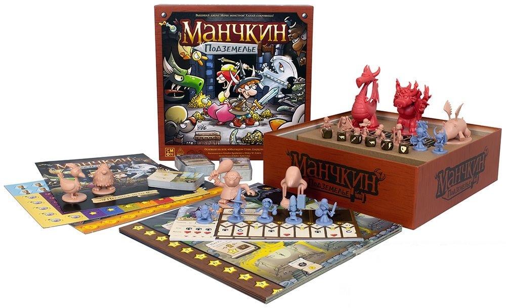 Настольная игра Манчкин: Подземелье - комплектация