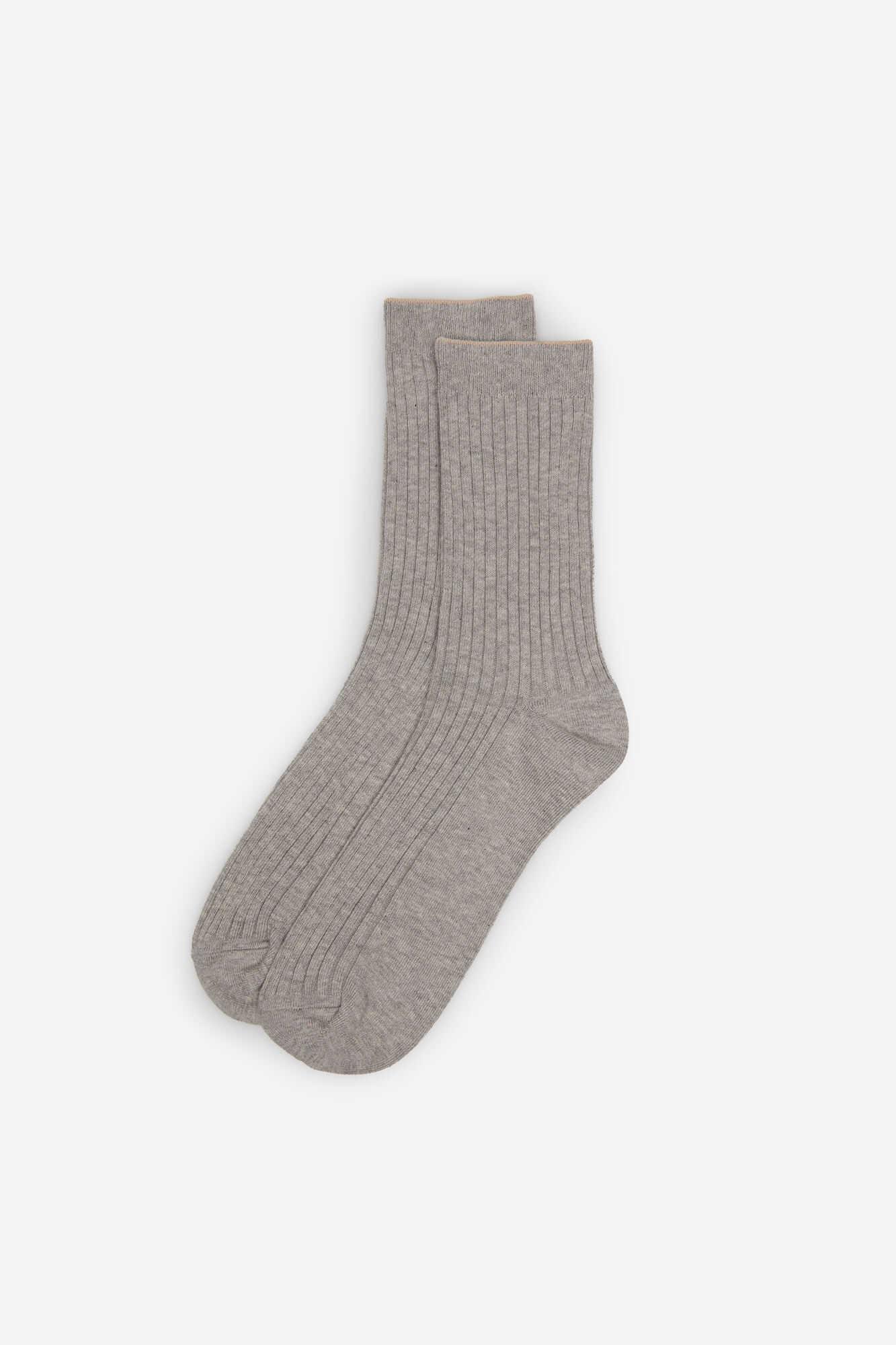 Шкарпетки в рубчик