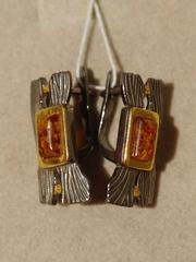 Тимора  (серьги  из серебра)