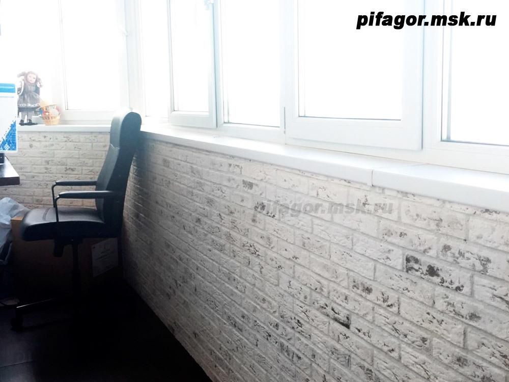 Pifagor.msk.ru Плитка Касавага ПОД КИРПИЧ, арт. 301 (Фото интерьера предоставлено нашим покупателем)