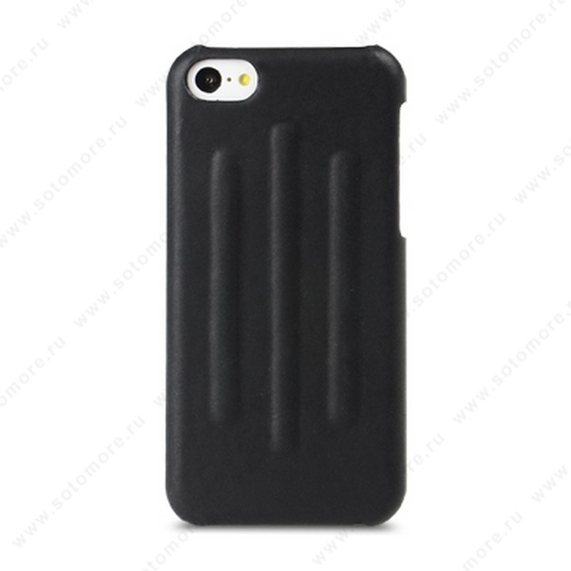 Накладка Melkco кожаная для iPhone 5C Leather Snap Cover Craft Limited Edition Prime Verti (Black Wax Leather)