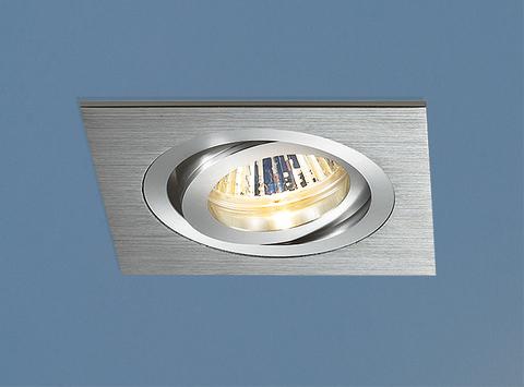 Алюминиевый точечный светильник 1011/1 MR16 CH хром