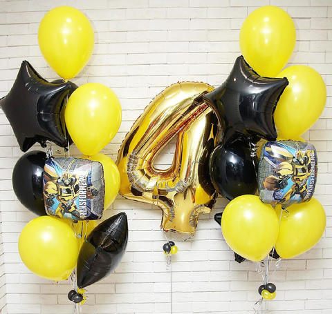 шарики трансформеры, шары на день рождения