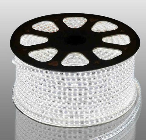 Светодиодная лента SMD3528/60, 220V влагозащищенная. Белая.