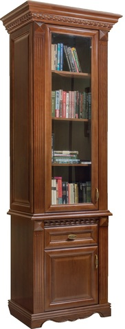 Шкаф для книг 1 дв. Афина