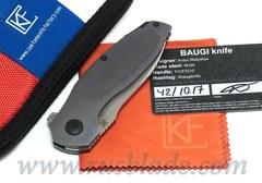 CKF Baugi knife (Malyshev design, M390, Ti)