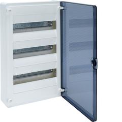 Щит скрытой установки, 36М, с прозрачной дверцей