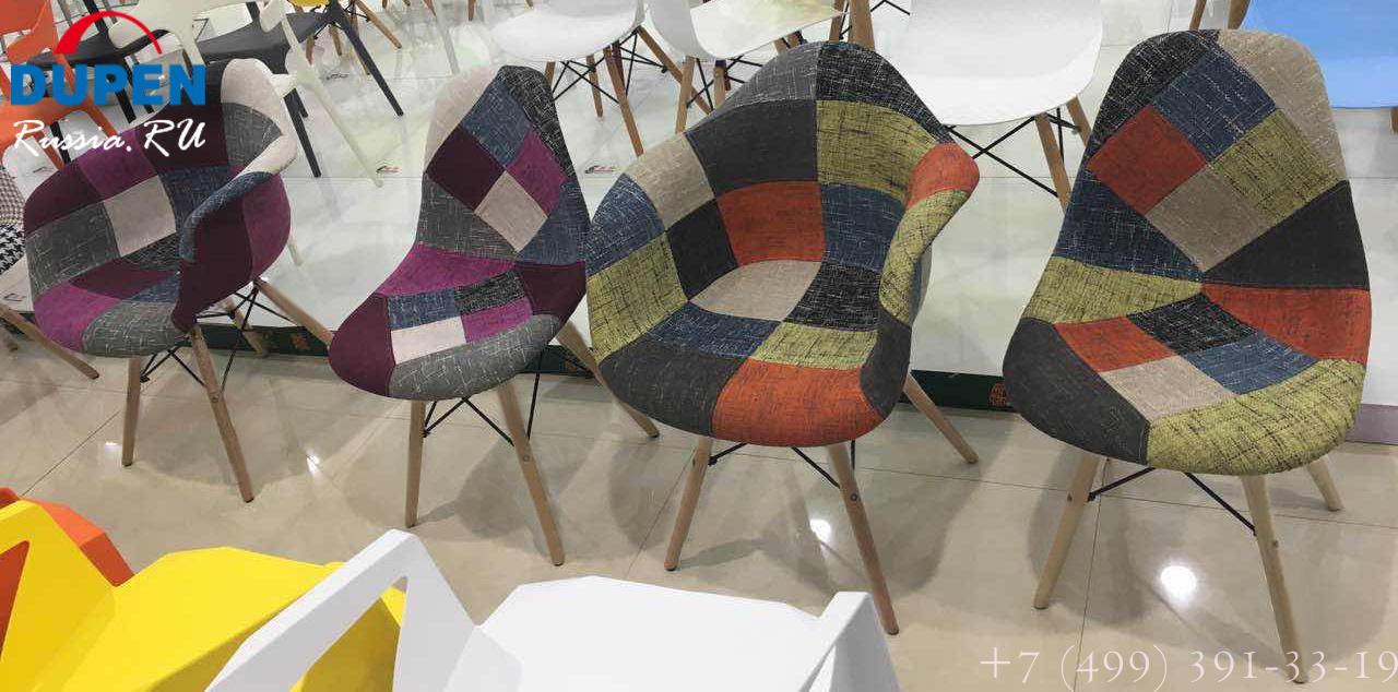 Кресло THEO WINTER (винтер) и другие кресла и стулья пэчворк