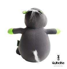 Подушка-игрушка антистресс «Бегемот малыш Няша», зеленый 4