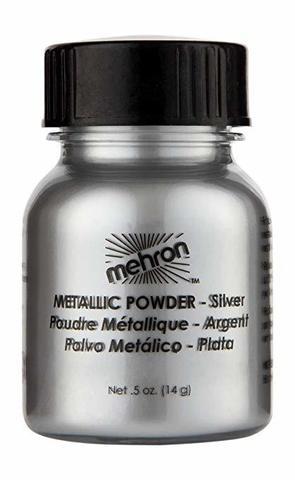 MEHRON Металлическая пудра-порошок Metallic Powder, Silver (Серебро), 14 г