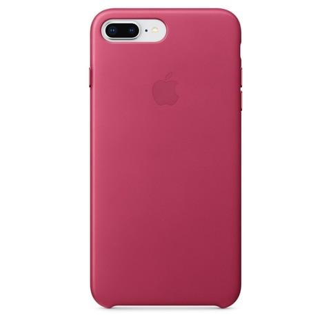 Чехол iPhone 7 Plus Leather Case /pink fuchsia/
