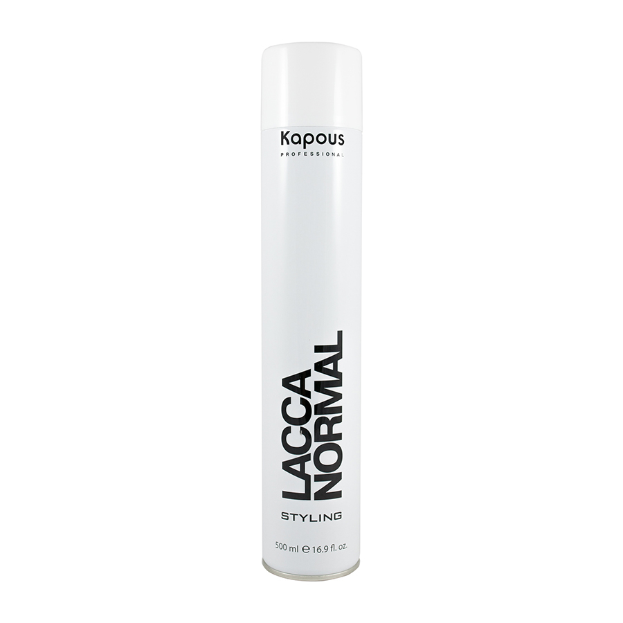 Лак аэрозольный нормальной фиксации Kapous 500 мл