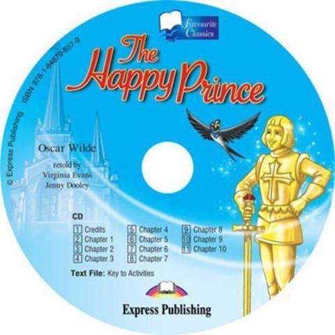 The Happy Prince. Счастливый принц. Аудио CD