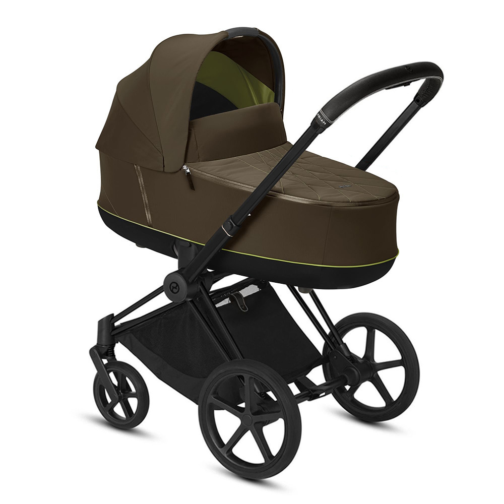 Коляска для новорожденных Cybex Priam III 2020 Коляска для новорожденных Cybex Priam III Khaki Green Matt Black cybex-priam-iii-khaki-green-matt-black.jpg