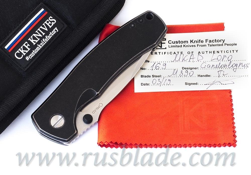 CKF MKAD Loro knife (M390, Ti, limited batch)