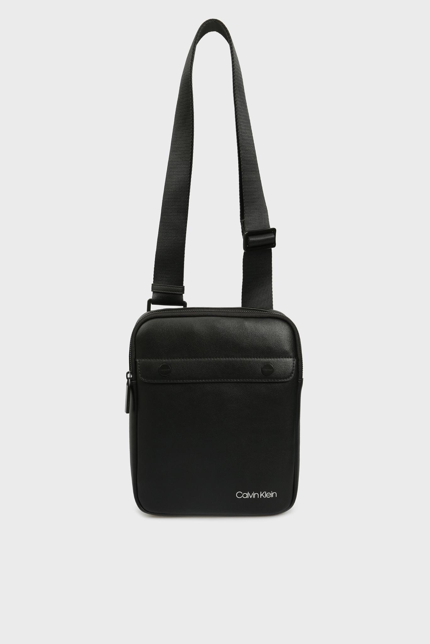 Мужская черная сумка через плечо Calvin Klein