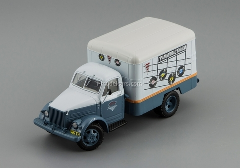 GAZ-51 Van advertising Gramophone record 1953 DIP 1:43